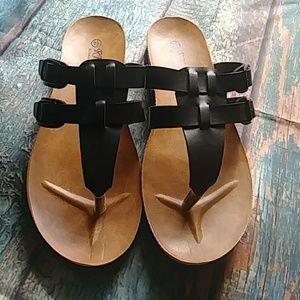Black Sandal Size 7.5